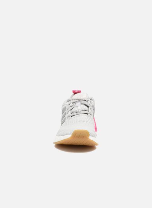 Baskets adidas originals Nmd_R2 W Gris vue portées chaussures
