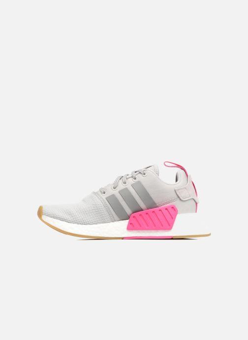 Sneaker Adidas Originals Nmd_R2 W grau ansicht von vorne