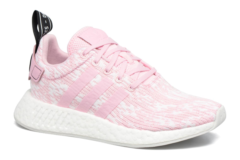Adidas Originals Nmd_R2 W (Rose) - Baskets en Más cómodo Dédouanement saisonnier