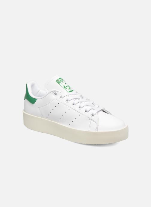 new product 96be7 5ddda Baskets adidas originals Stan Smith Bold W Blanc vue détail paire