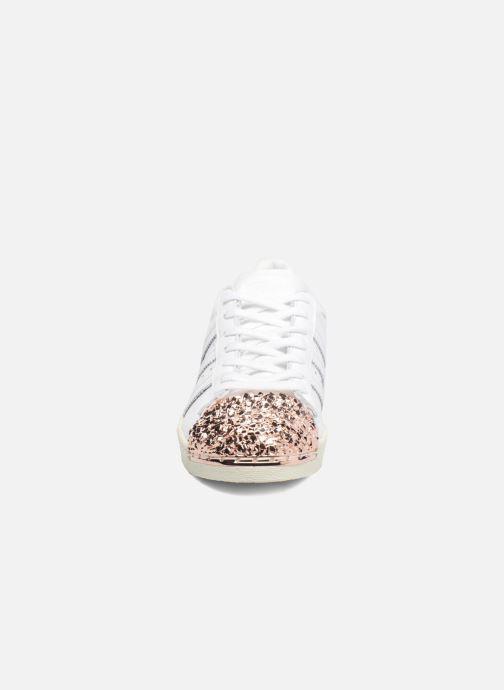 Sneakers Adidas Originals Superstar 80S 3D Mt W Bianco modello indossato