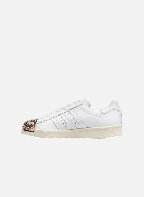Sneakers Adidas Originals Superstar 80S 3D Mt W Bianco immagine frontale
