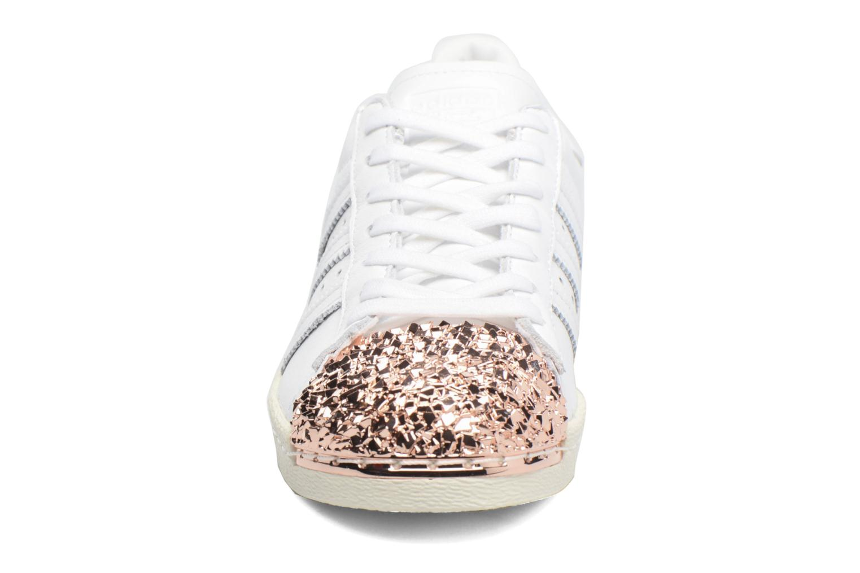 Sneaker Adidas Originals Superstar 80S 3D Mt W weiß schuhe getragen