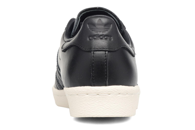 Sneaker Adidas Originals Superstar 80S 3D Mt W schwarz ansicht von rechts