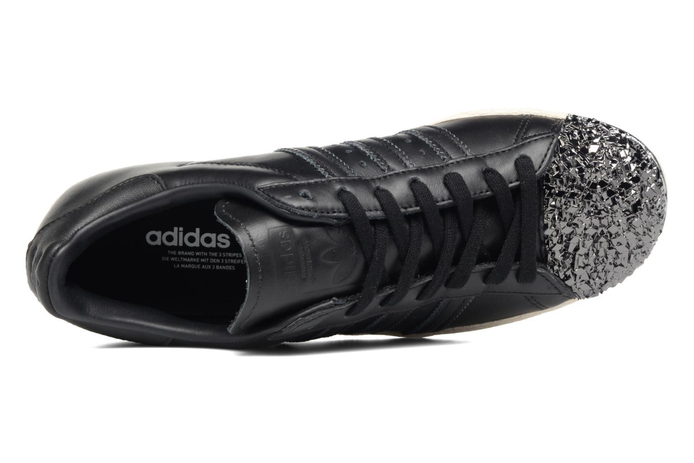 Sneaker Adidas Originals Superstar 80S 3D Mt W schwarz ansicht von links