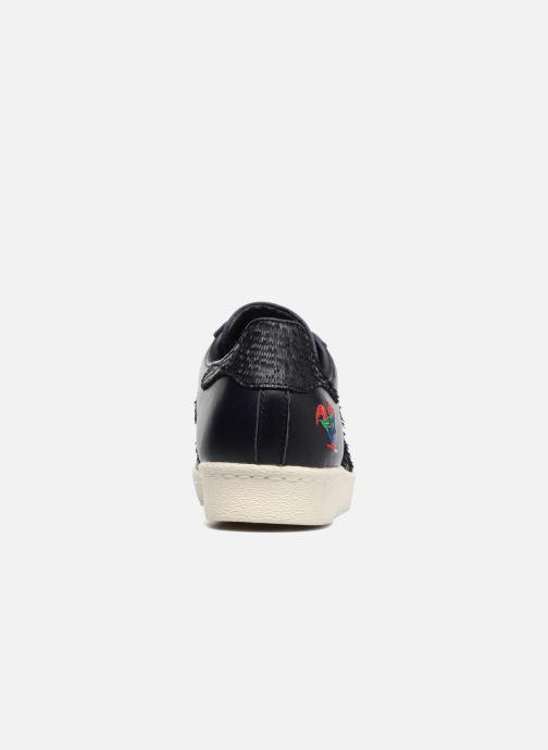 Sneaker adidas originals Superstar 80S Cny schwarz ansicht von rechts