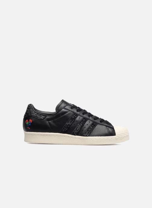 Sneaker adidas originals Superstar 80S Cny schwarz ansicht von hinten