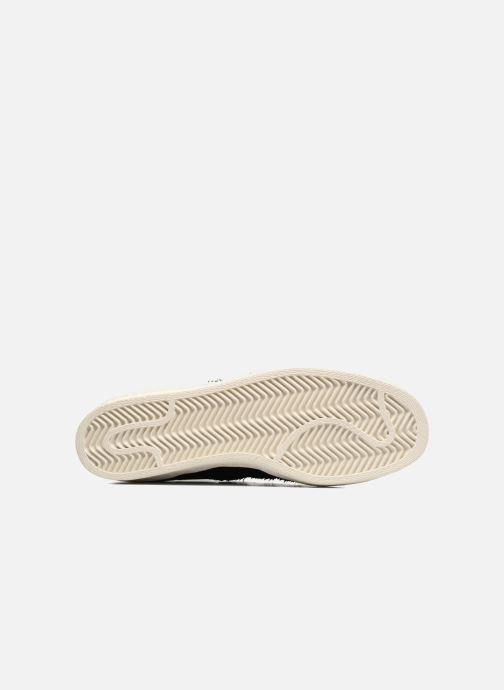 Sneaker adidas originals Superstar 80S Cny schwarz ansicht von oben