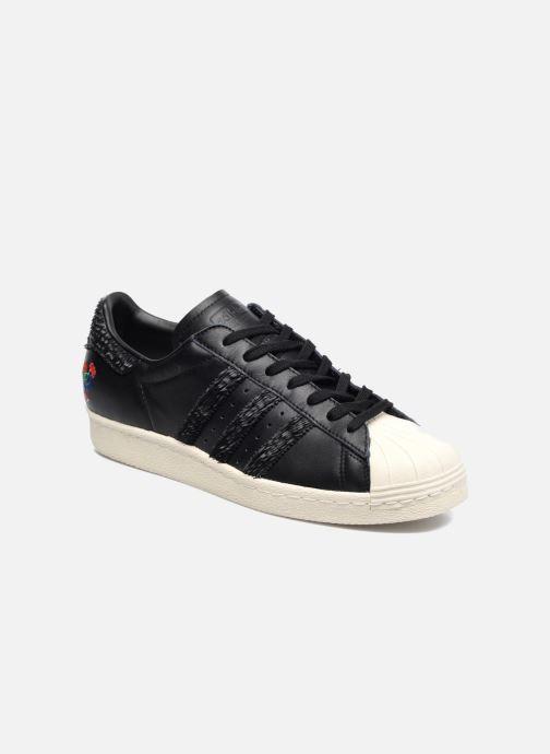 timeless design 36896 12cdd Baskets adidas originals Superstar 80S Cny Noir vue détail paire