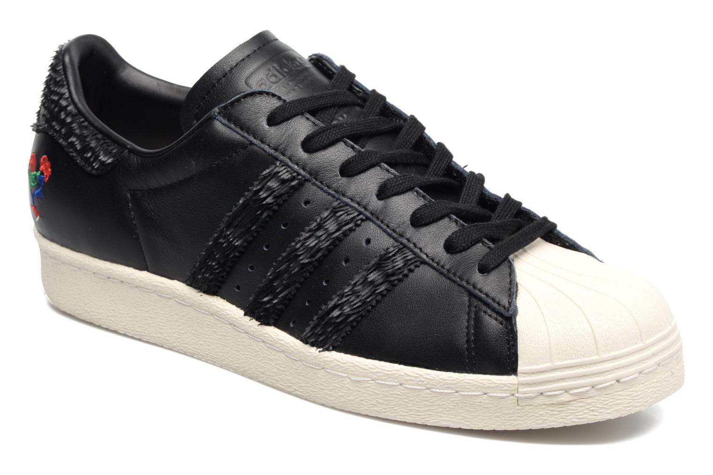 Sneaker Adidas Originals Superstar 80S Cny schwarz detaillierte  ansicht modell 0fd2e7560d