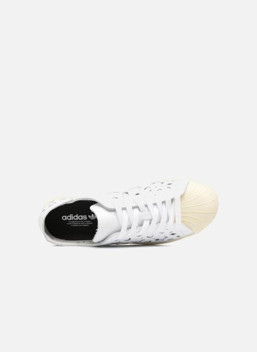 finest selection e684b 615b9 Sneakers adidas originals Superstar 80S Cut Out W Bianco immagine sinistra