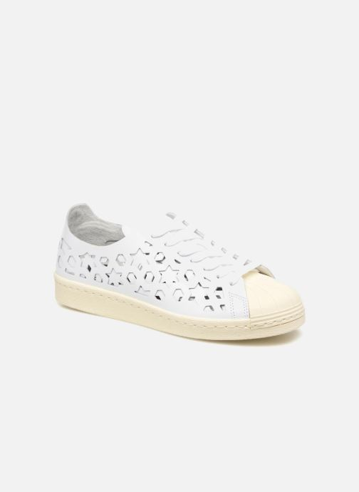 new style 35b86 bc8ae Sneakers adidas originals Superstar 80S Cut Out W Bianco vedi dettaglio paio