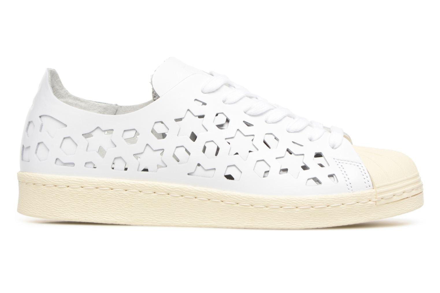 Baskets Adidas Originals Superstar 80S Cut Out W Blanc vue derrière