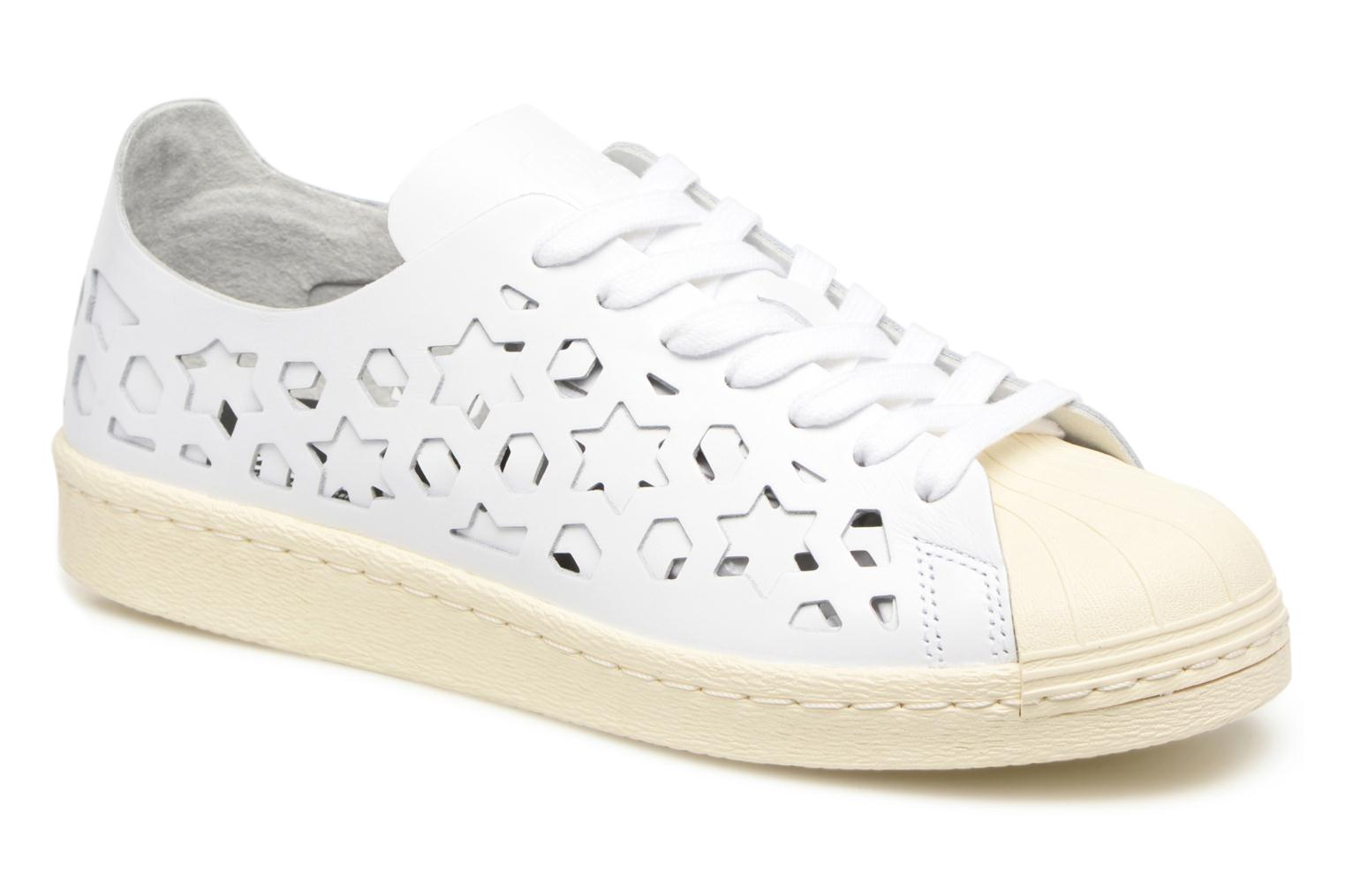 Baskets Adidas Originals Superstar 80S Cut Out W Blanc vue détail/paire