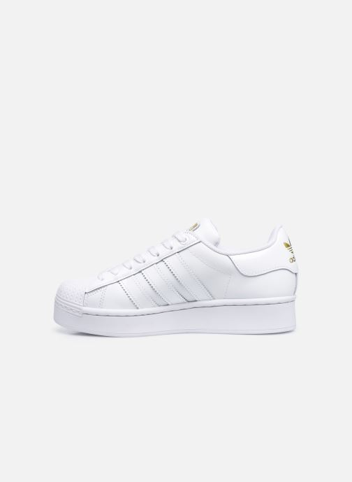 Sneakers adidas originals Superstar Bold W Bianco immagine frontale