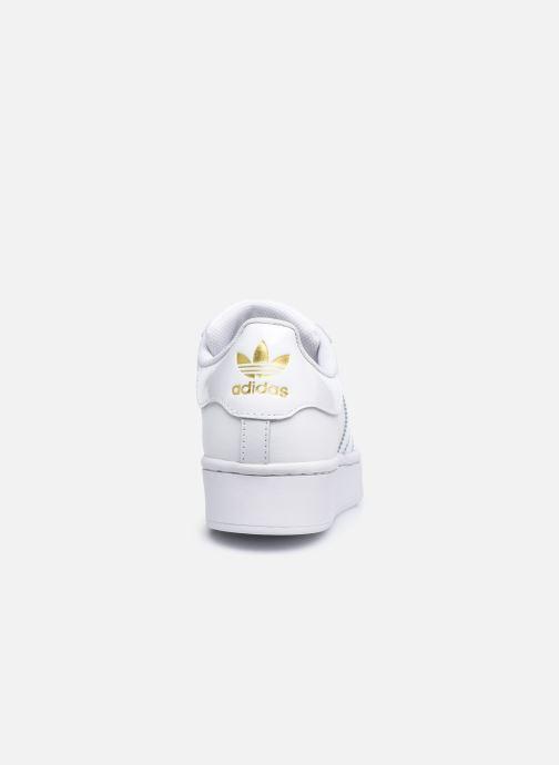 Sneaker adidas originals Superstar Bold W weiß ansicht von rechts