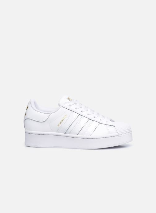 Sneakers adidas originals Superstar Bold W Bianco immagine posteriore