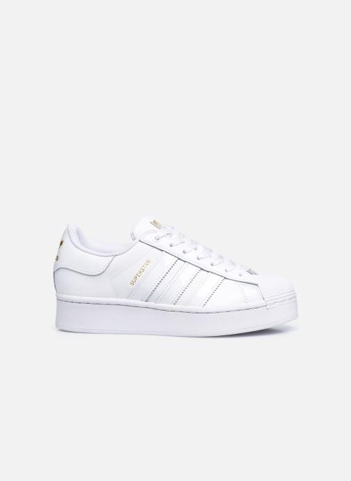 Sneaker adidas originals Superstar Bold W weiß ansicht von hinten
