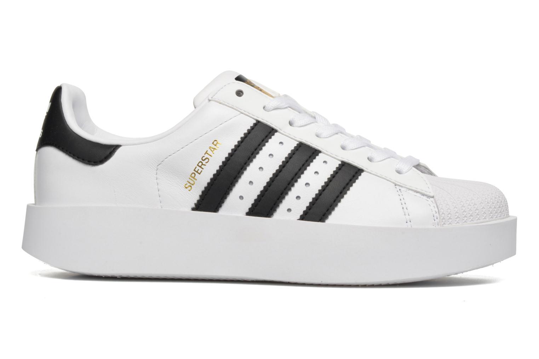 Baskets Adidas Originals Superstar Bold W Blanc vue derrière