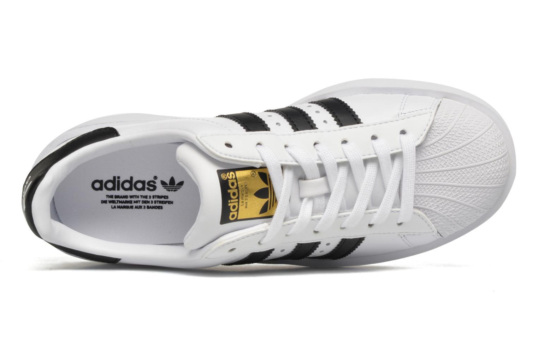 Baskets Adidas Originals Superstar Bold W Blanc vue gauche