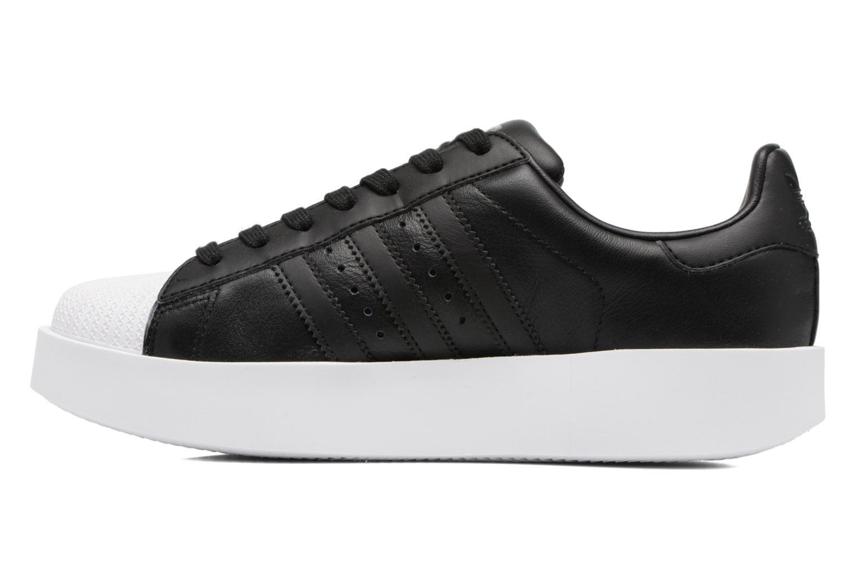 Sneakers Adidas Originals Superstar Bold W Zwart voorkant