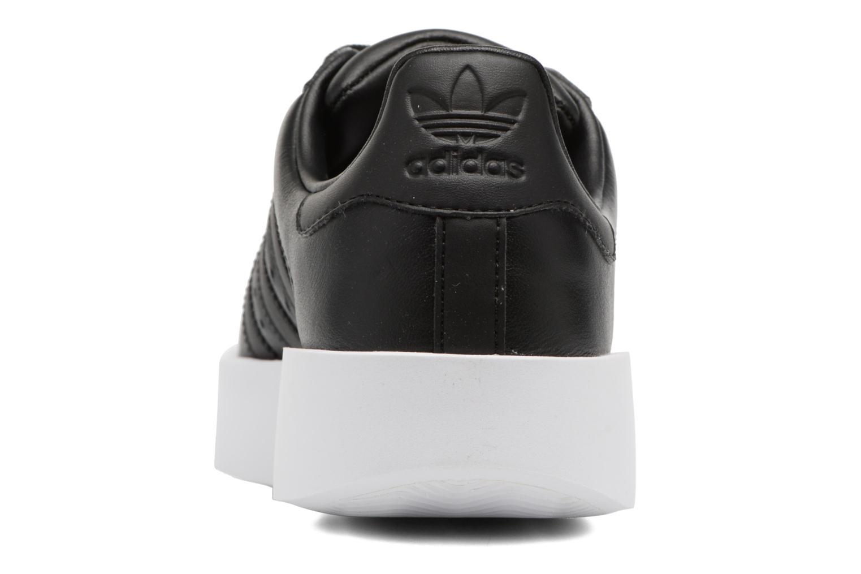 Sneakers Adidas Originals Superstar Bold W Zwart rechts