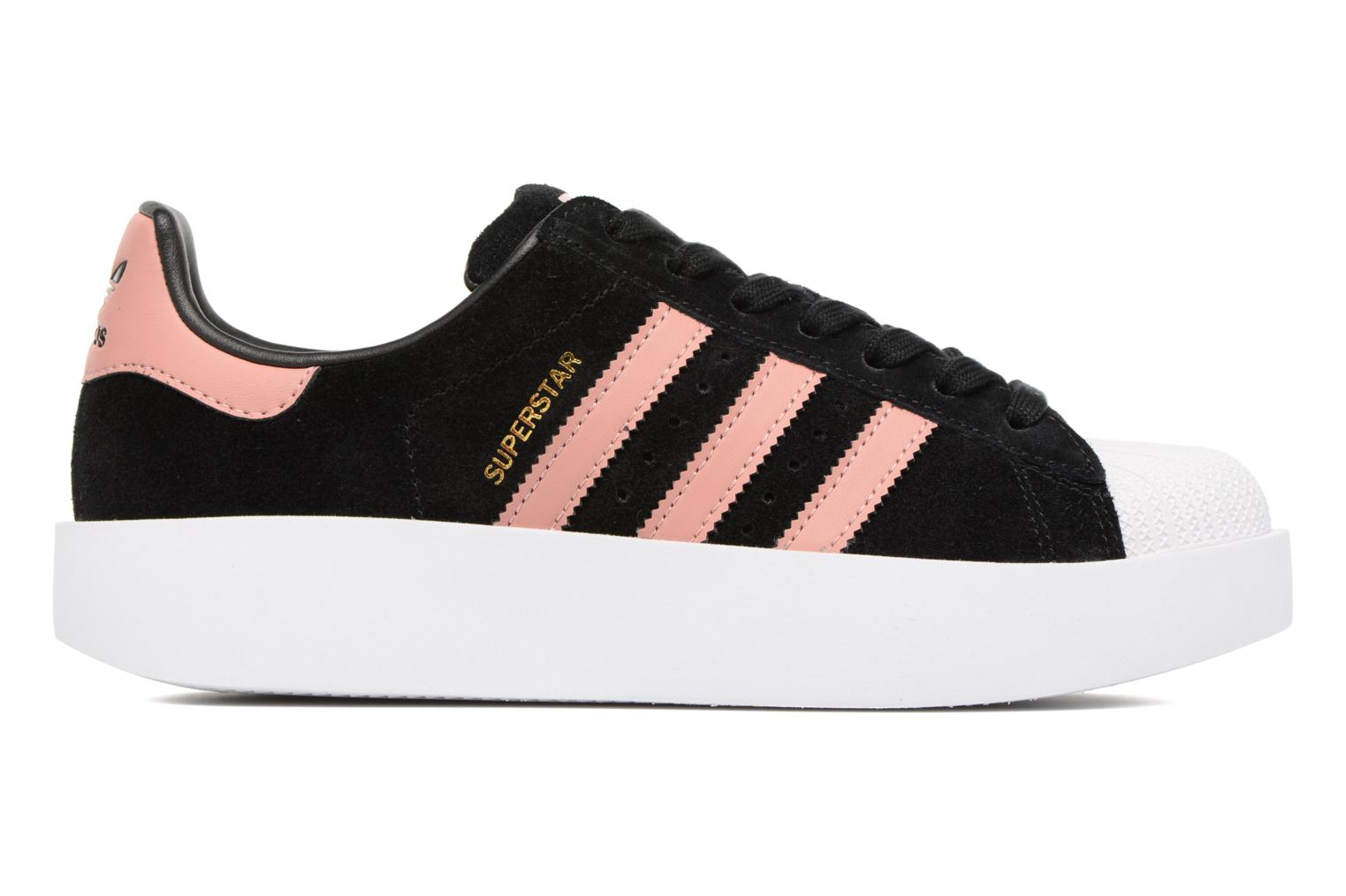 Baskets Adidas Originals Superstar Bold W Noir vue derrière