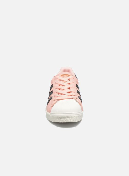 Trainers adidas originals Superstar Boost W Pink model view