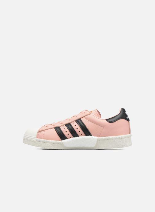 Trainers adidas originals Superstar Boost W Pink front view