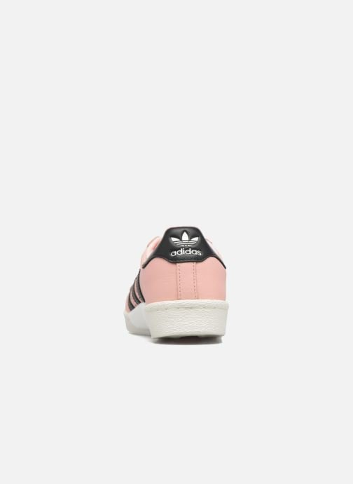 Trainers adidas originals Superstar Boost W Pink view from the right