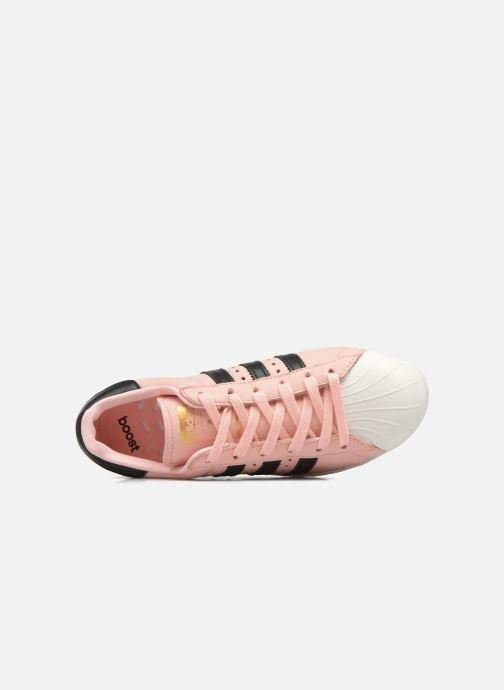 Trainers adidas originals Superstar Boost W Pink view from the left