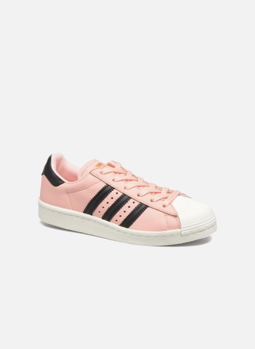 Trainers adidas originals Superstar Boost W Pink detailed view/ Pair view