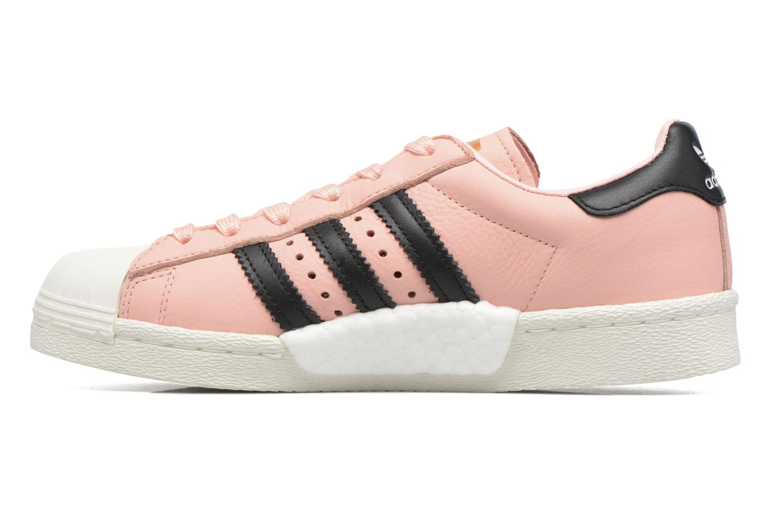Deportivas Adidas Originals Superstar Boost W Rosa vista de frente