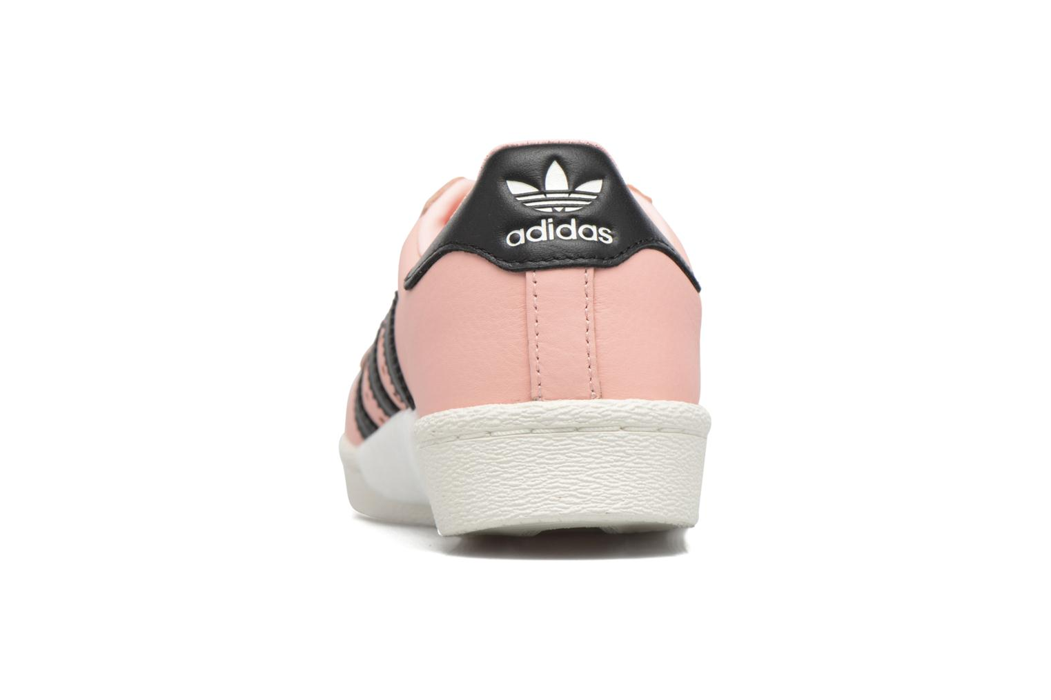 Deportivas Adidas Originals Superstar Boost W Rosa vista lateral derecha