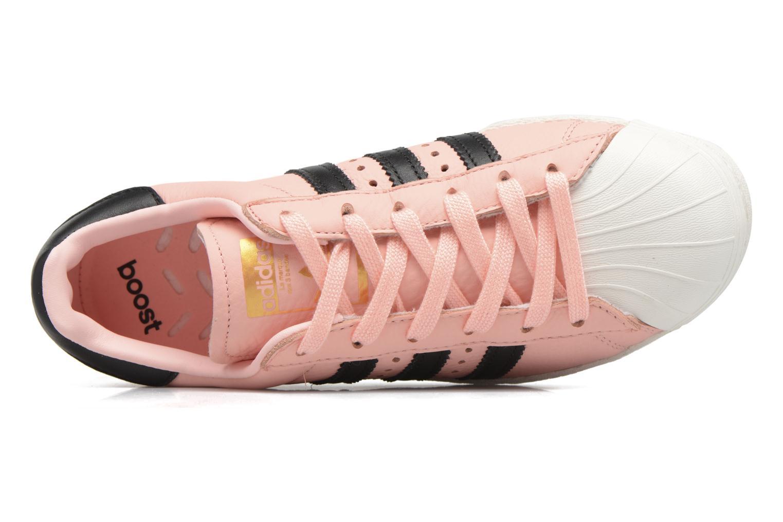 Baskets Adidas Originals Superstar Boost W Rose vue gauche