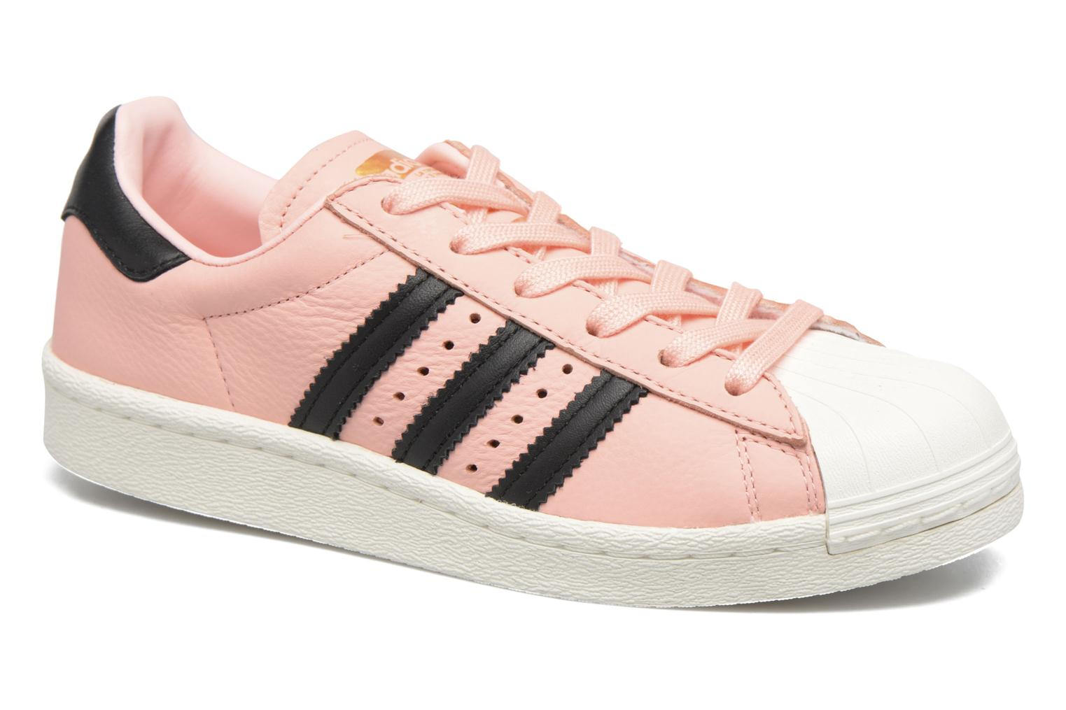 Baskets Adidas Originals Superstar Boost W Rose vue détail/paire