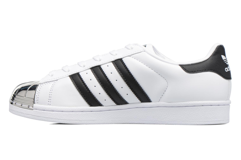 Baskets Adidas Originals Superstar Metal Toe W Blanc vue face
