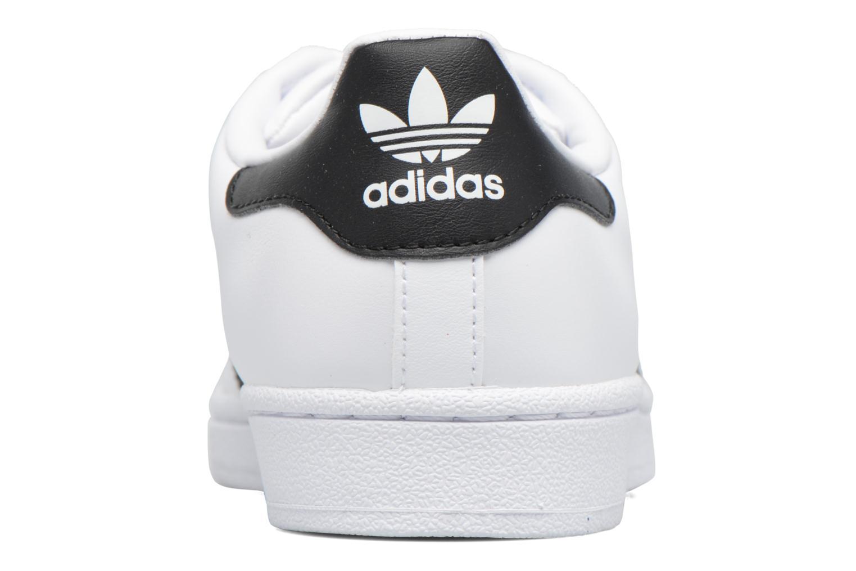 Baskets Adidas Originals Superstar Metal Toe W Blanc vue droite