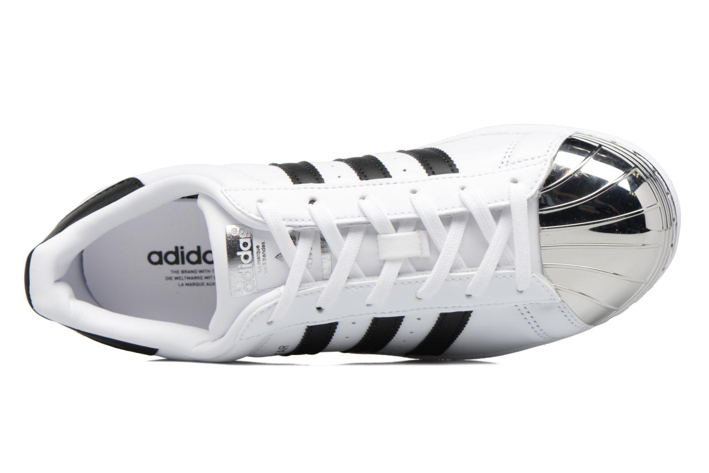 Baskets Adidas Originals Superstar Metal Toe W Blanc vue gauche