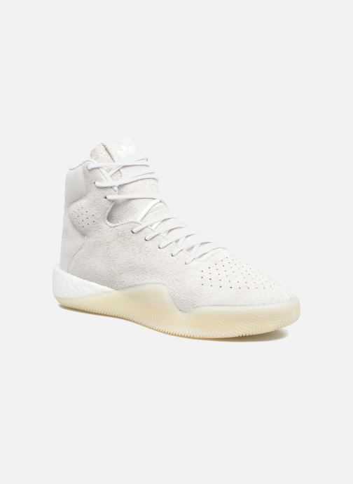 Baskets adidas originals Tubular Instinct Blanc vue détail/paire