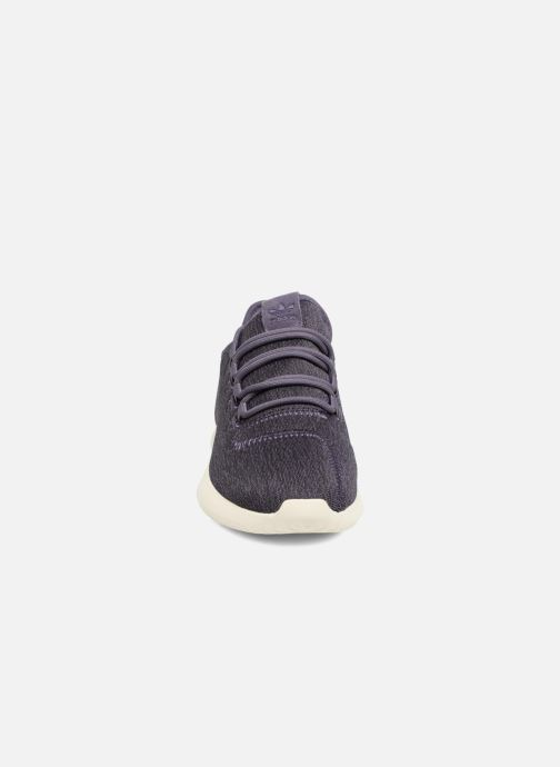 Baskets adidas originals Tubular Shadow W Violet vue portées chaussures