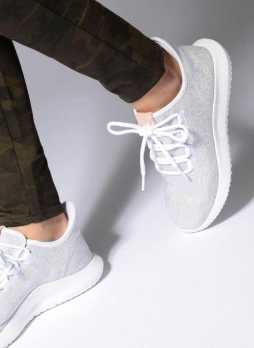 Baskets adidas originals Tubular Shadow W Noir vue bas / vue portée sac