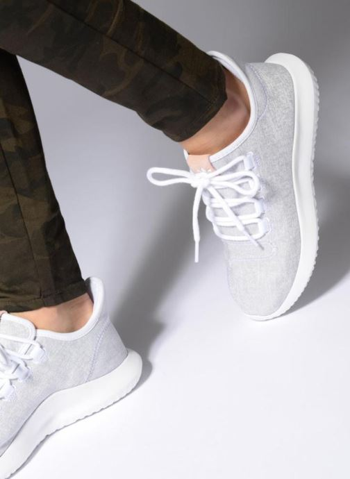 Trainers adidas originals Tubular Shadow W Blue view from underneath / model view
