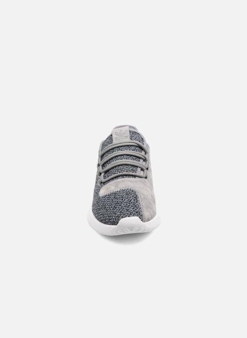 Sneaker adidas originals Tubular Shadow W blau schuhe getragen
