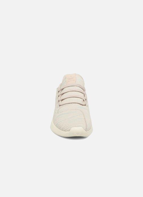 Baskets adidas originals Tubular Shadow W Bleu vue portées chaussures