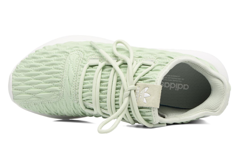 Baskets Adidas Originals Tubular Shadow W Vert vue gauche