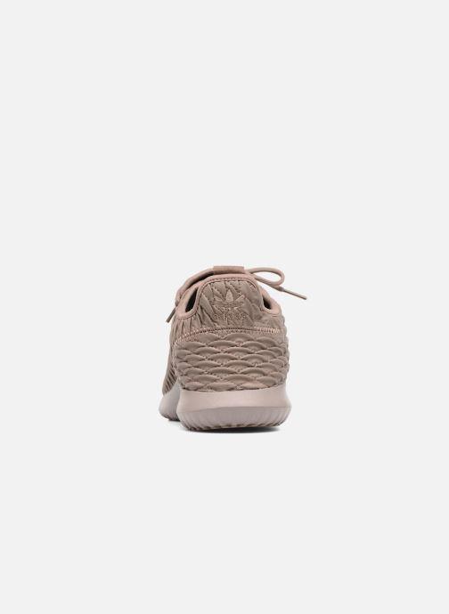 Baskets adidas originals Tubular Shadow Marron vue droite