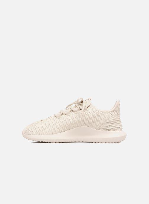 Sneaker adidas originals Tubular Shadow beige ansicht von vorne