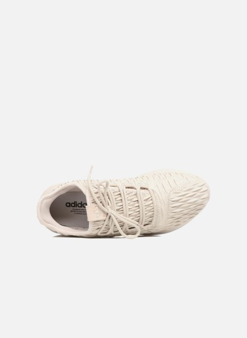 Sneaker adidas originals Tubular Shadow beige ansicht von links