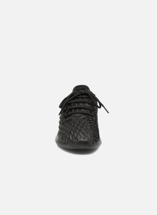 Sneaker adidas originals Tubular Shadow schwarz schuhe getragen